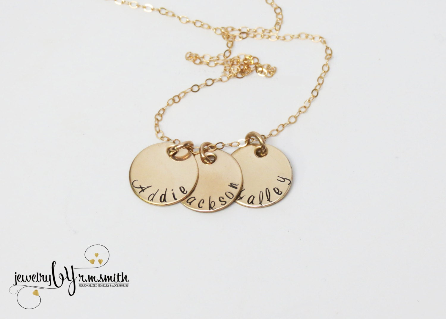 personalized gold necklace mothers necklace kids names. Black Bedroom Furniture Sets. Home Design Ideas