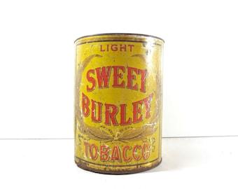 Vintage Tobacco Tin, General Store Display Bin