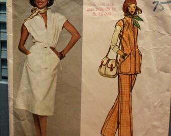 Vogue American Designer Pattern Jerry Silverman 1241