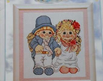 CLEARANCE Counted Cross Stitch Pattern DREAMSCICLES Book 4 WEDDING Rehearsal