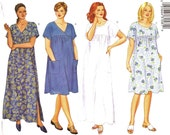 Plus Sized Tunic or Beach Dress Pattern Butterick 6601 (Womens sizes 22W-24W-26W)
