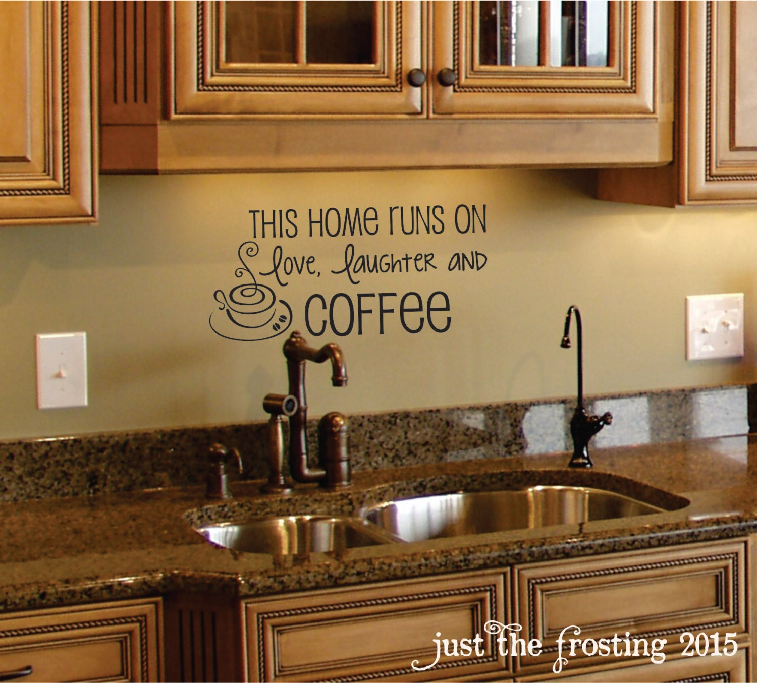Coffee Wall Decal Coffee Decor Kitchen Wall Decal