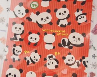 Lovely Panda Sticker - 1 Sheet
