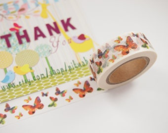 Butterfly Washi Tape (10M)