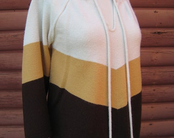Gorgeous Cuddle Knit Poncho Sweater in Autumn Winter Colors