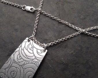 Kala Necklace ~ Paper Rose