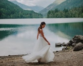 Tulle Wedding Skirt, Tulle Ballgown, Removable Tulle Ballgown, Ballgown Skirt, Wedding Dress skirt