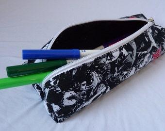 Walking Dead pencil case geek school