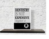 Printable Quote, Dental Office Decor, Art Print, Gift for Dentist, Dental Quote, wall art, Inspirational, Dentist gift