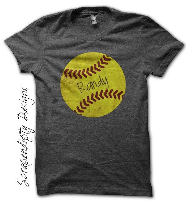 Yellow Softball Shirts Iron on Softball Shirt Pdf