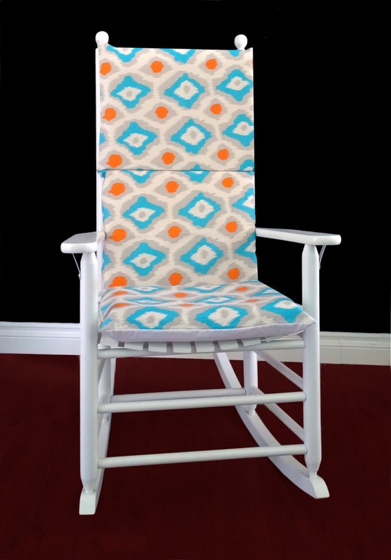 rocking chair cushion adrian dossett mandarin by rockincushions. Black Bedroom Furniture Sets. Home Design Ideas