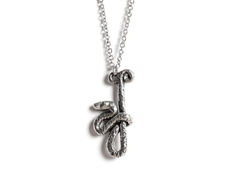 Snake Necklace, Snake Totem, Scorpio, le animalé, October / November Birthday