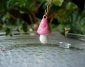Clay Mushroom Charm , Mushroom Charm , Polymer Clay Charm , Cute Charm , Jewelry Charm , Phone Charm , Fairy Mushroom Charm