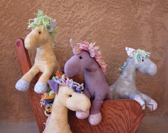 Personalized/Customized Stuffed Horse or Unicorn