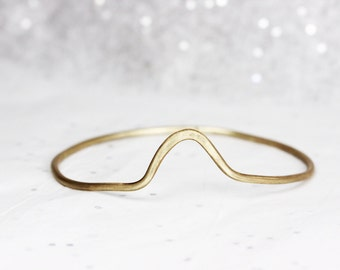 Mountain Bangle - Delicate Jewelry