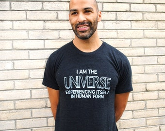 I AM the UNIVERSE Unisex Tri-Blend Tee