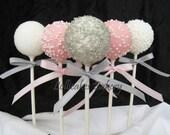 Princess Birthday Favors: Cake Pops Made to Order, 1 dozen Cake Pops