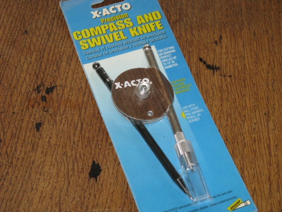 Items similar to x acto precision compass and swivel knife for X acto craft swivel knife