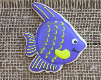 Fish Cookies / Summer Party / Tropical Fish / Under the Sea Party / Beach Party / Pool Party / Tropical Fish Decor /  Tropical Fish / Fish