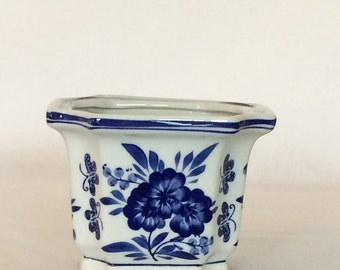Delft Planter Bowl Stands 4 1/4""