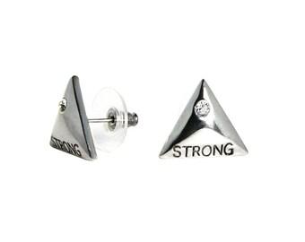 Strength Stud Earrings CFE1501