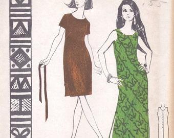 Akamai Summer Dress Polynesian Pattern 143 Size 8 Uncut