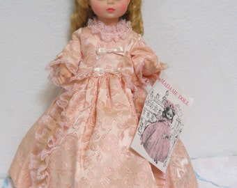 "Vintage Alexander Doll with Pink Dress, 1967 ""Madame Doll"" Story Book Doll"