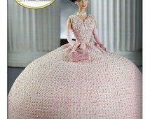 First Ladies of America Collection Mamie Eisenhower  Fashion Doll  Crochet Pattern  Annies Attic  8502