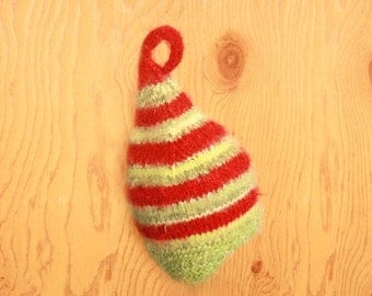 Christmas Elf hat baby hat kids hat Christmas costume Striped  photo prop winter hat Holiday girls clothing cindy lou who