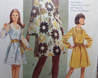 Ready for the Meeting Easy to sew Easy to Wear misses dress pattern Simplicity 8611