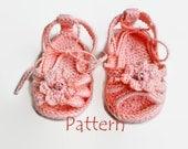 Crochet baby sandals Crochet baby flip flops Crochet baby booties Newborn baby girl Toddler girl shoes Baby girl crochet sandal Crochet baby