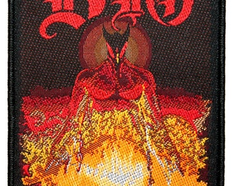 "Band ""Dio"" The Last In Line Album Art Heavy Metal Music Sew On Applique Patch"