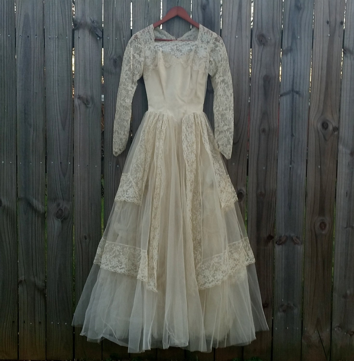 Vintage Wedding Dresses 50s 60s: Vintage Wedding Dress 50s 60s Kate Middleton By