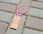 Upcycled Wood Bookmark - Small Hardwood Bookmark Ready To Ship
