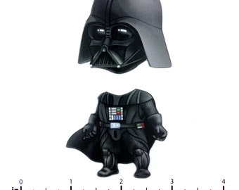 Mix and Match Magnets: Darth Vader (Star Wars)