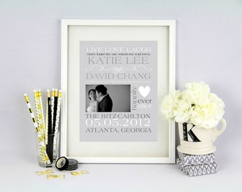 Wedding Announcement Customizable Word Art- Printable