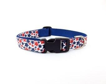 Large All Stars Dog Collar