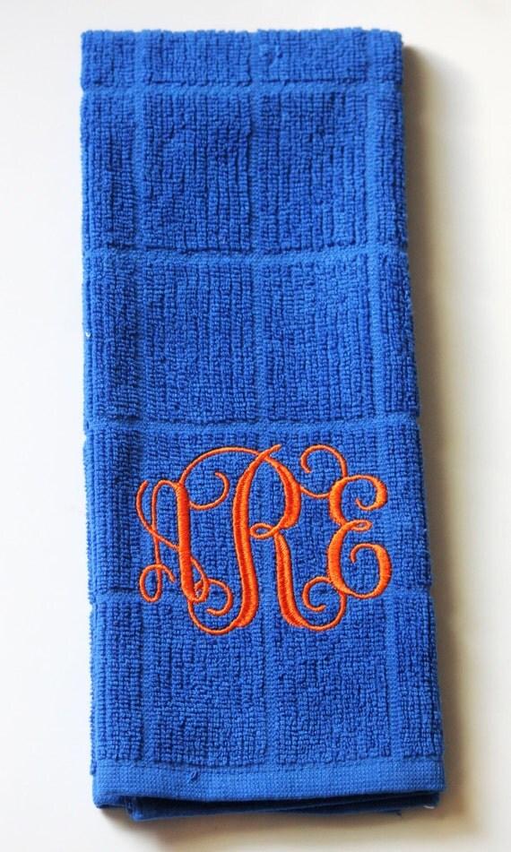 Monogram Dish Towels Initial Dish Towels Dish Towels