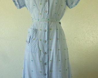 1950's-60's Day dress.
