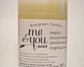 Vegan Deodorant-Evergreen Scent-Handmade-Natural & Nourishing