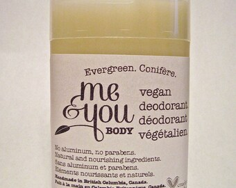 Vegan Deodorant-Evergreen Scent-Handmade-Natural & Nourishing