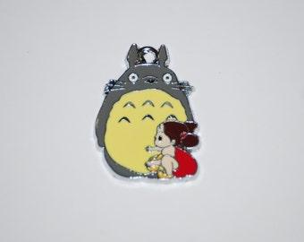 My Neighbor Totoro Enamel cell phone charm, Mobile Phone Charm, MP3 charm, MP4 Dangle Charm, IPOD Strap Charm,