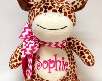 Personalized Plush Giraffe Stuffed Animal