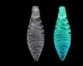 Glow in the Dark Glass Pendant - Venus
