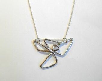 Sterling Silver Pinwheel Pendant