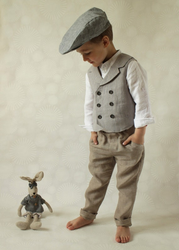 ring bearer outfit wedding party outfit toddler boy vest and. Black Bedroom Furniture Sets. Home Design Ideas
