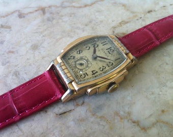 Vintage Benrus Watch, BB2 Men's Watch - 15 Jewels Swiss Watch, Offered exclusively by the Delovelyness Collection on Etsy, FREE SHIPPING