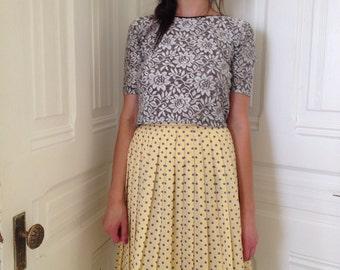 Pleated Professional Skirt