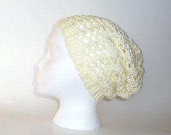 Slouchy Hat Beanie Slouch Hat Beanie Knit Hat Crochet Hat Winter Hat Womens Hat Handknitted Accessories Handmade Hand Knitted Hat Warm Cozy
