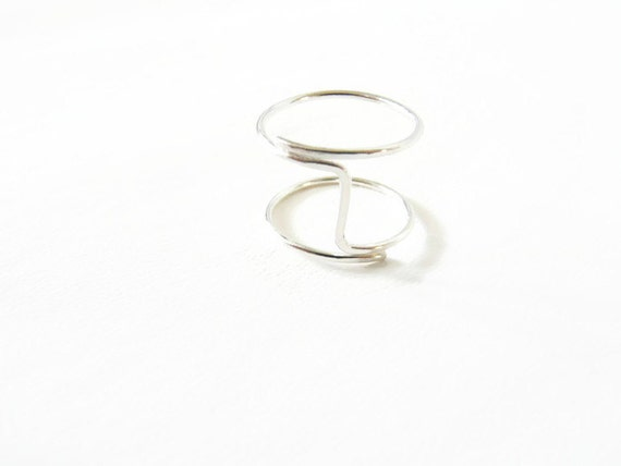 sterling silver index finger ring for handmade jewelry